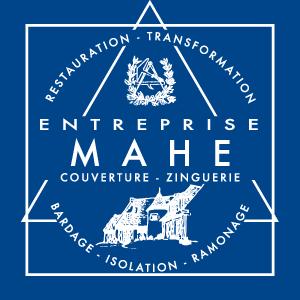 Logo de Mahé Couverture, votre couvreur à SAINT NAZAIRE pour la toiture et le ramonage