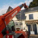 Rénovation d'une couverture ardoise à Saint Nazaire par Mahé Couverture